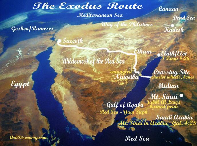 The Exodus Of The Hebrews Moses And The Pharaohs Part The Red - Map of egypt during exodus